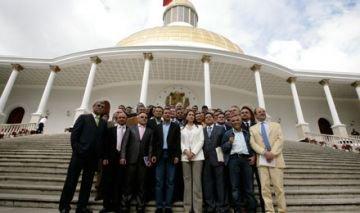 Representan 40% del Parlamento venezolano